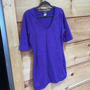 EUC VENUS medium purple tunic top/dress